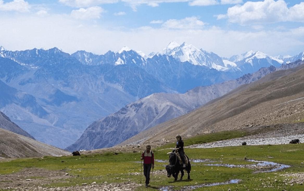 Wakhan Corridor in Afthanistan