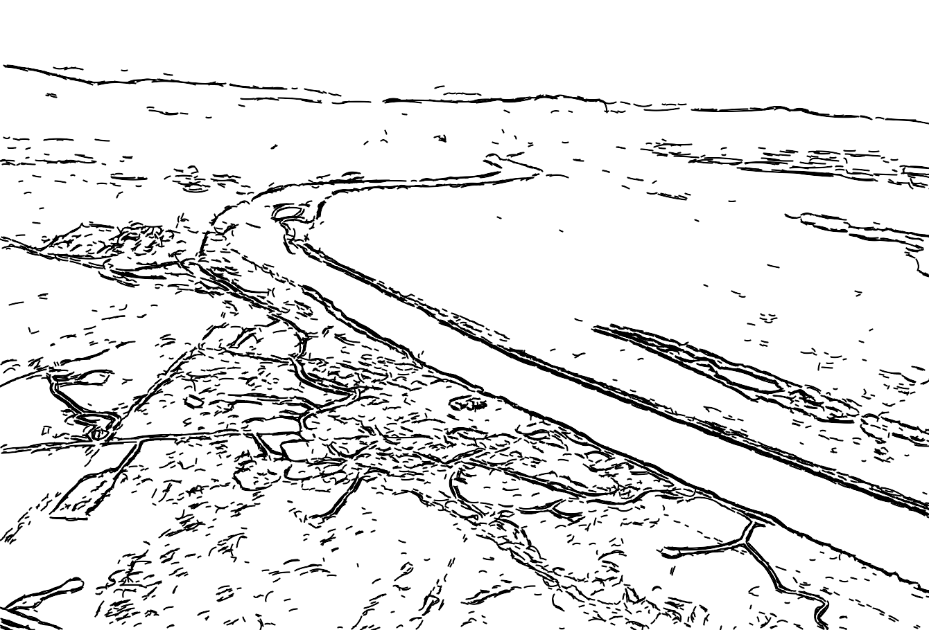 Terrain Signature of the Hanford Reservation in Eastern Washington