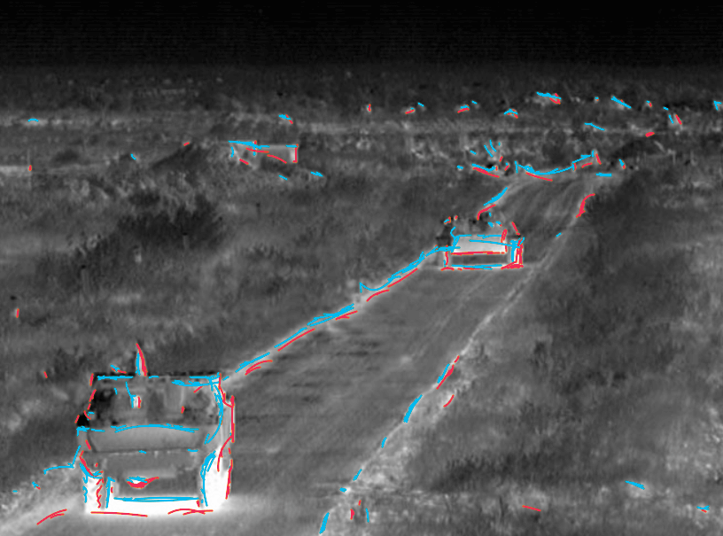 Infrared vehicle detection